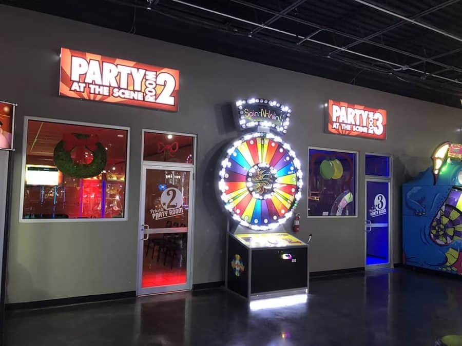 Party Rooms at Scene75