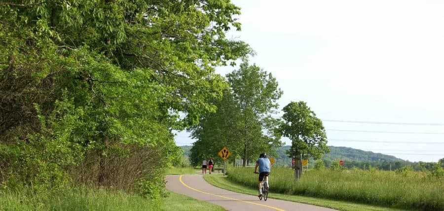 Bicycling picture from Great Parks of Hamilton County