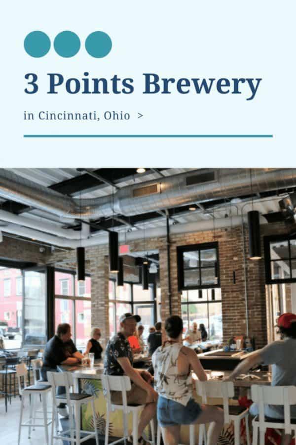3 Points Brewery in Cincinnati