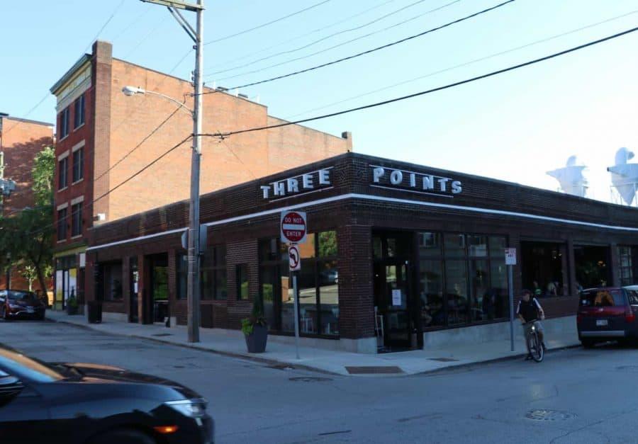3 Points Urban Brewery in Cincinnati Ohio