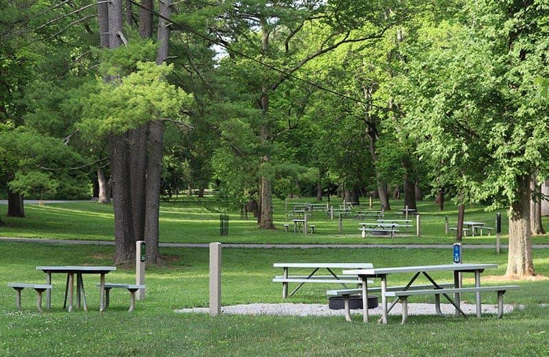 Lake Isabella campground