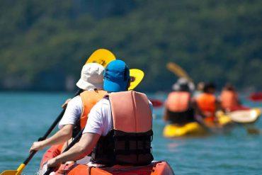 Kayaking at Great Parks of Hamilton County