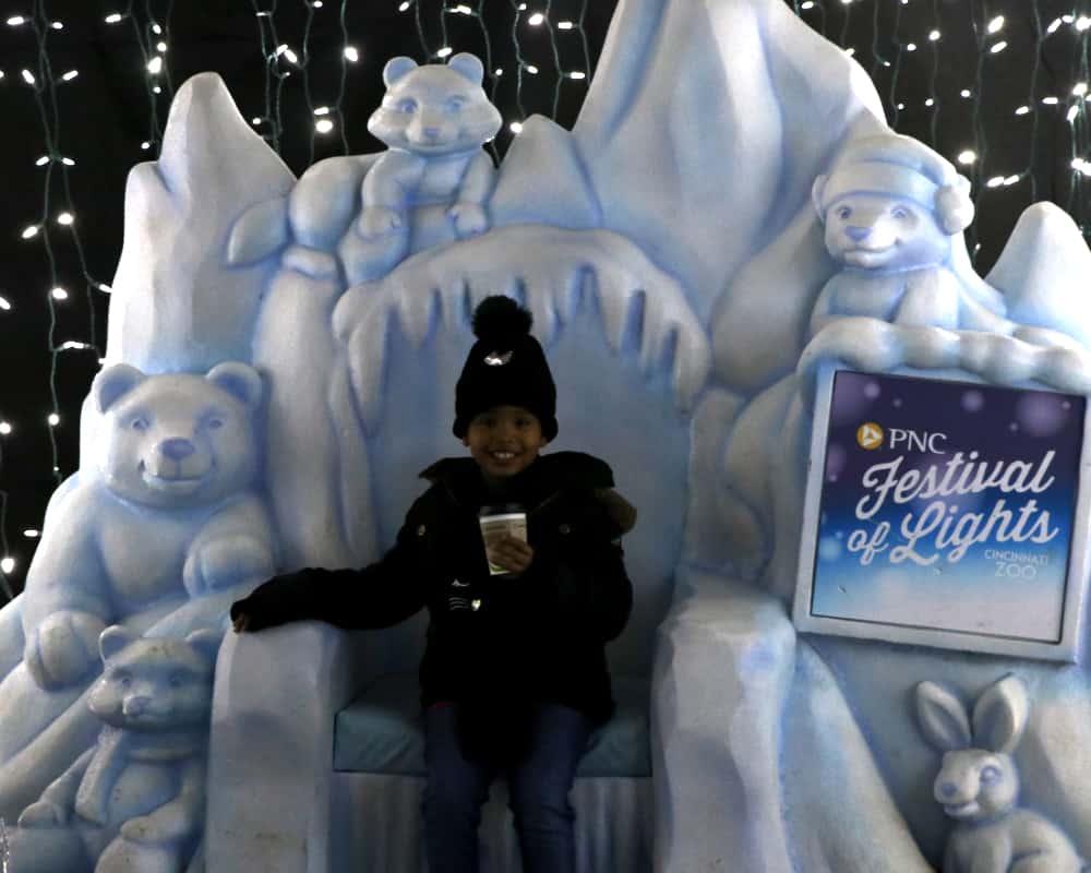 Frozen Wonderland at PNC Festival of Lights