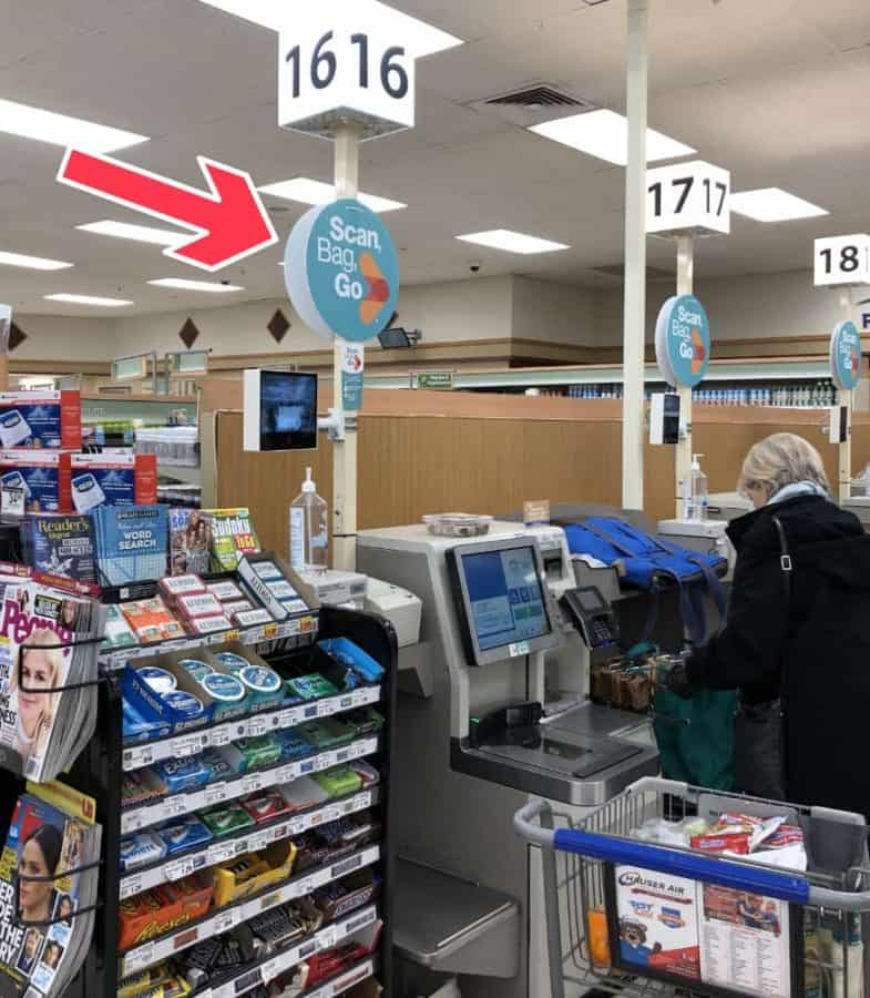 How to Pay for Scan Bag Go at Kroger