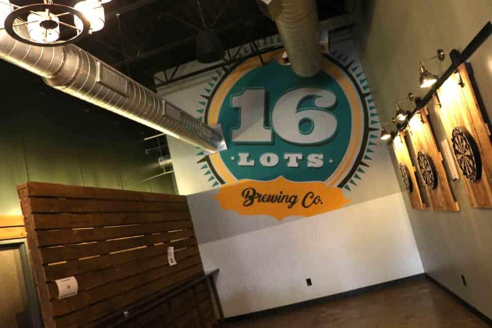 Darts at 16 Lots Brewery