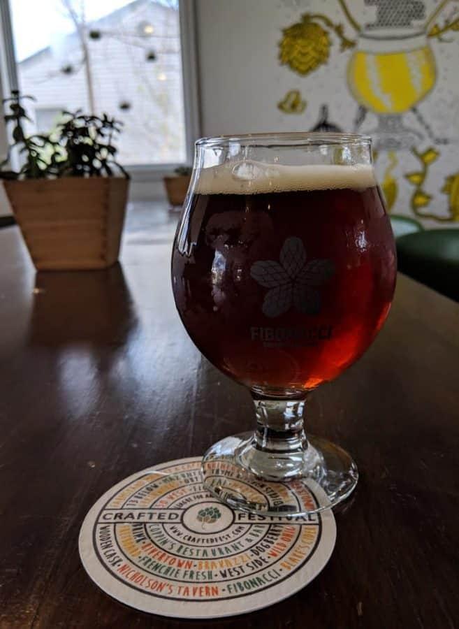 beer at Fibonacci Brewing