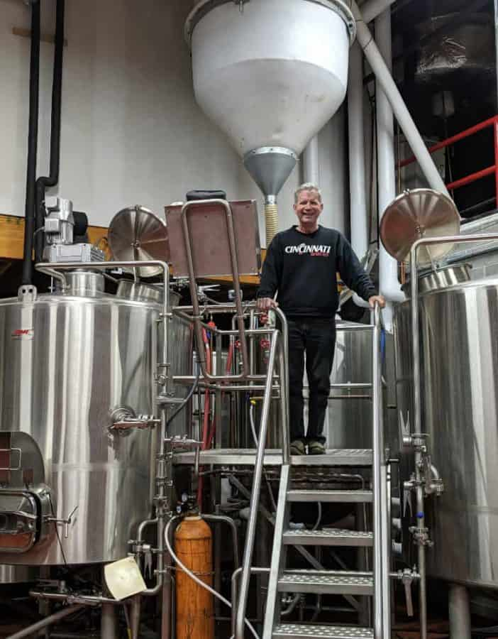 Jon Newberry, owner of Wiedemann's Brewing