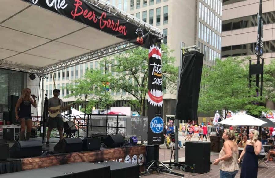 Entertainment at Taste of Cincinnati