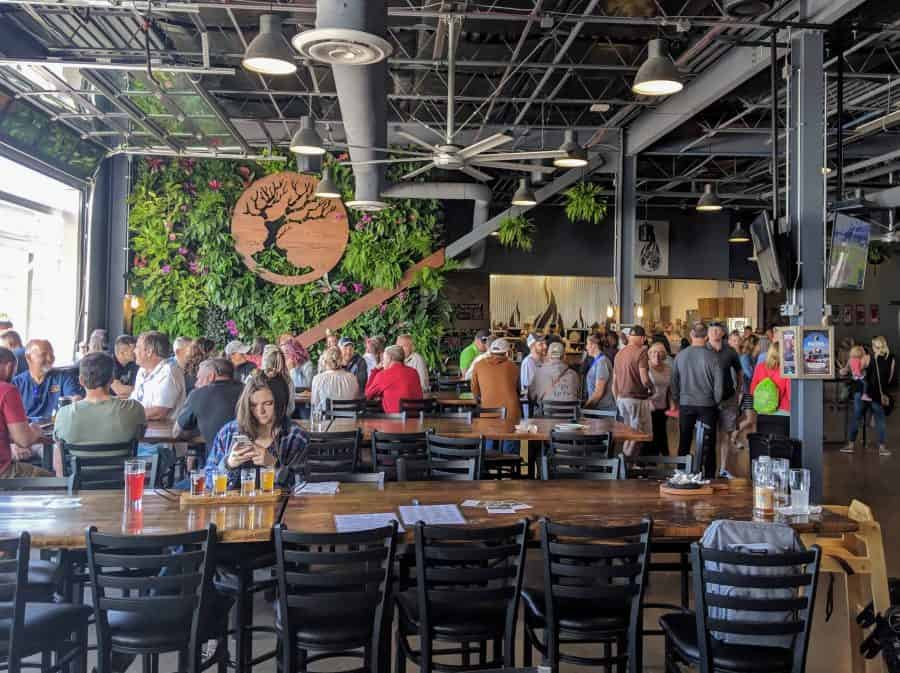 taproom at madtree brewing
