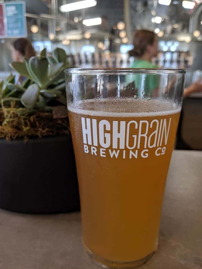 Draft Beer at HighGrain Brewing Co.