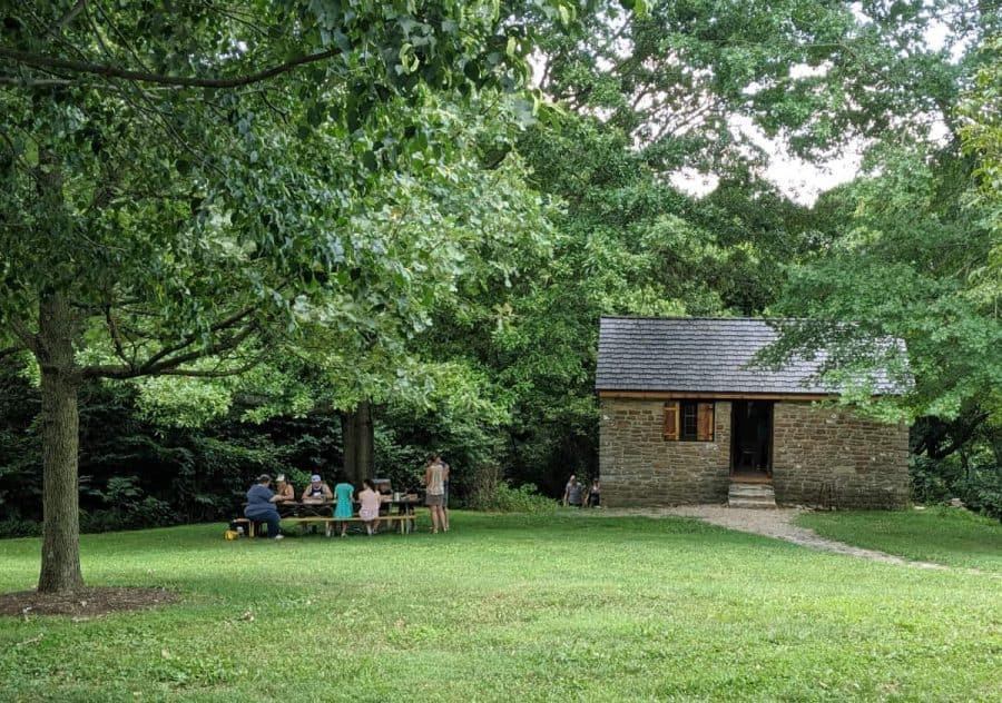 The old Schoolhouse at Shawnee Lookout