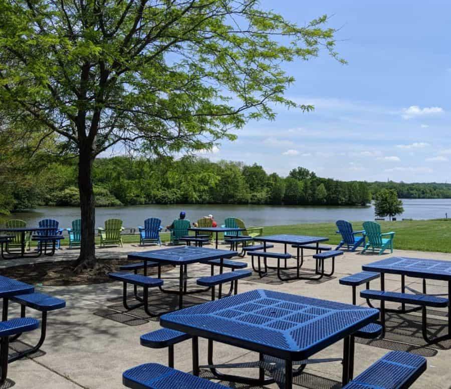 Miami Whitewater Forest picnic area