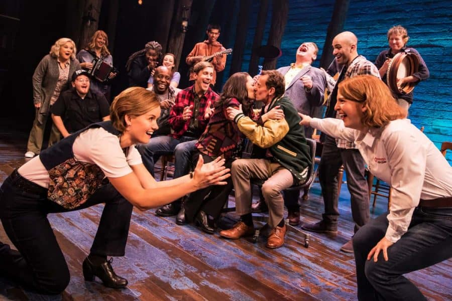 ensemble cast for Come From Away