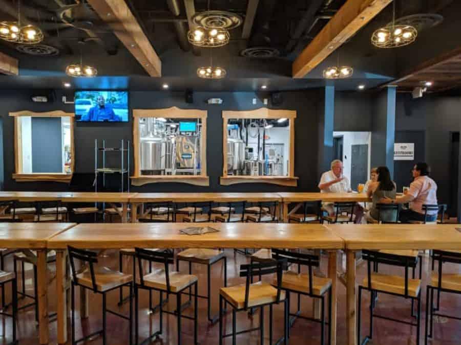 The Beer Hall at Big Ash Brewery