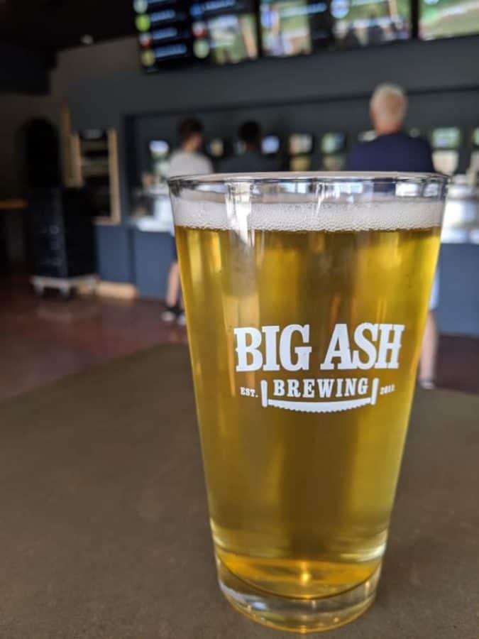 Beer at Big Ash Brewing