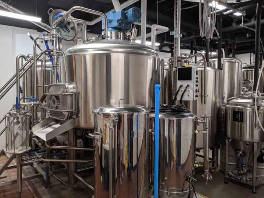 the beer barrels