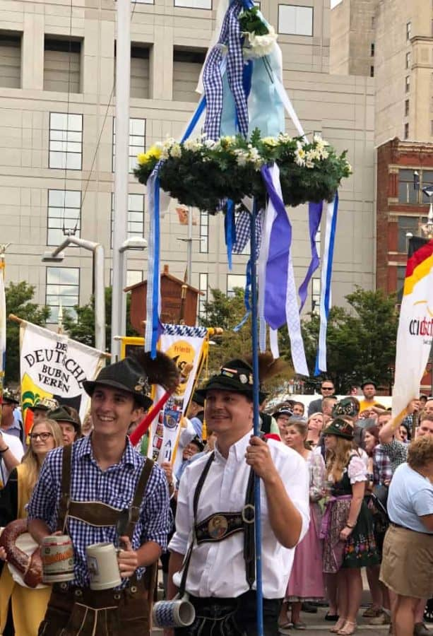 German Clubs at Cincinnati Oktoberfest