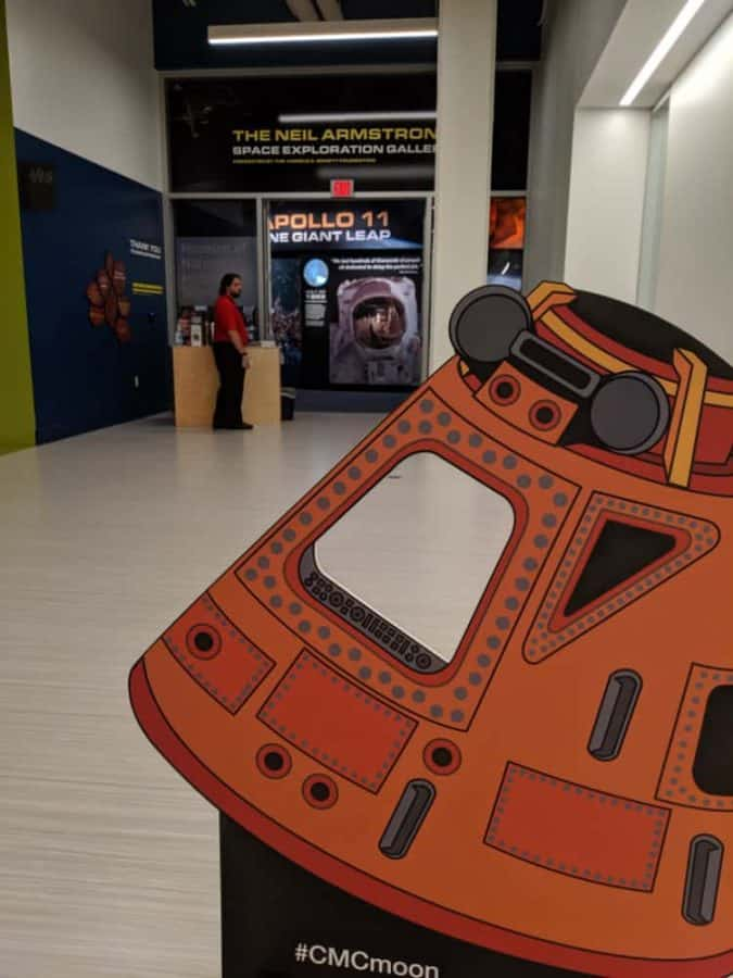 Neil Armstrong Space Exploration Gallery at Cincinnati Museum Center