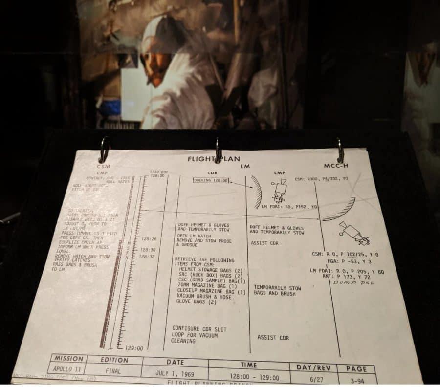 Flight Plan for Apollo 11