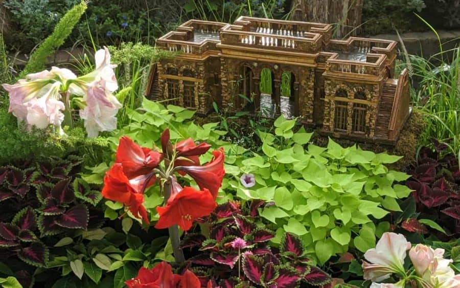 Ault Park at the Krohn Conservatory's Christmas Trains Show