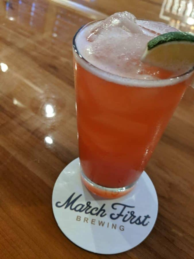 The Uncle Sam cocktail, created with March First craft spirits