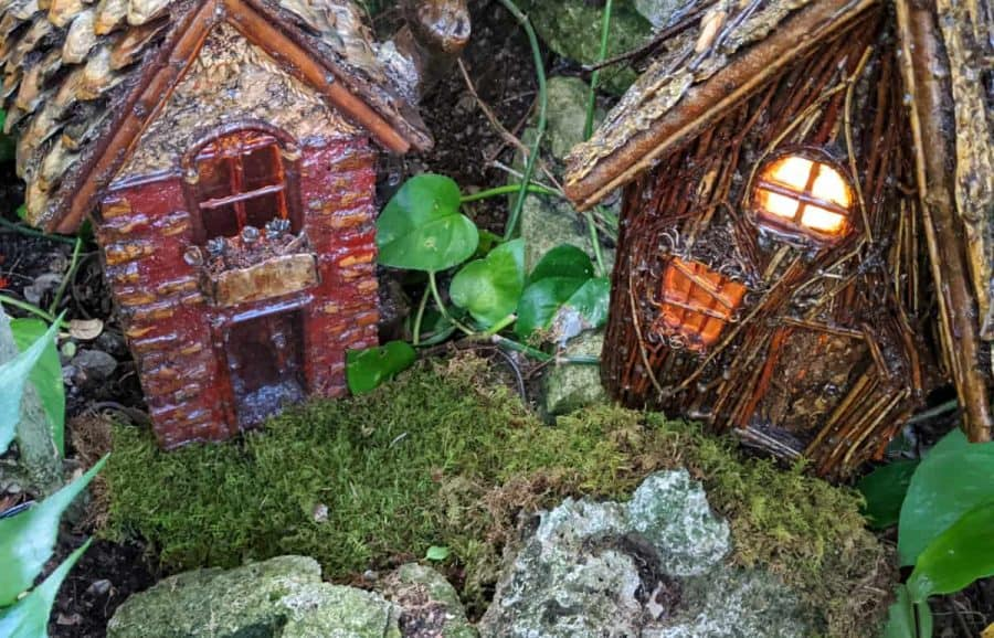 Fairy abodes in the Black Forest at Krohn Conservatory