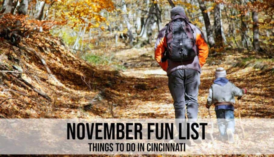November things to do in Cincinnati