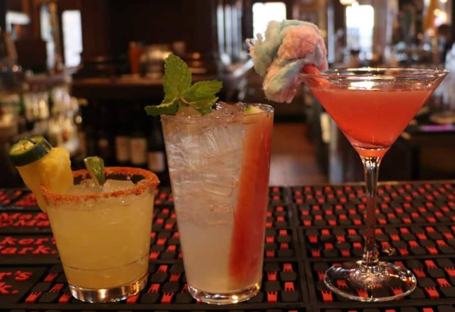 Mean Girls themed cocktails at Nicholson's