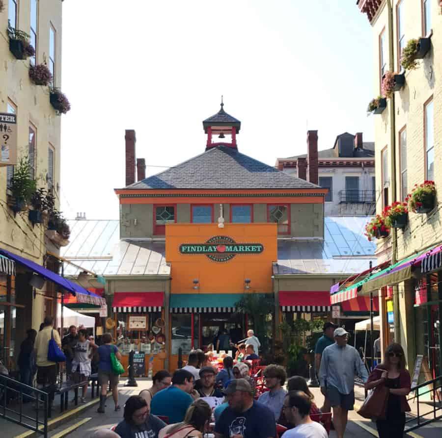 Findlay Market in Cincinnati, Ohio