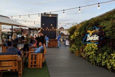 Rooftop Bar at Braxton Brewery
