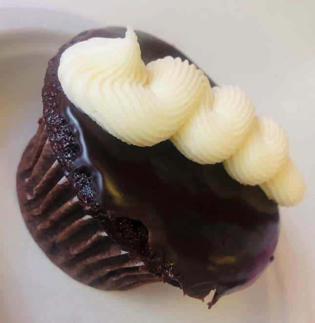 Chocolate cupcake from Abby Girl Sweets