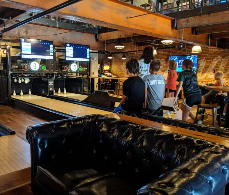 Duckpin Bowling in Cincinnati