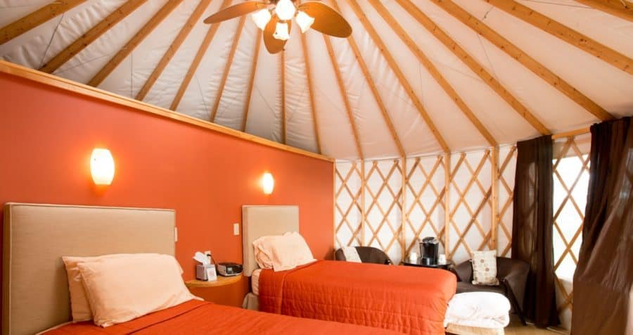 Glamping at The Wilds' Nomad Ridge