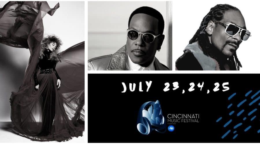 Cincinnati Music Festival line up