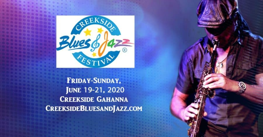 Creekside Blues and Jazz Festival in Ohio