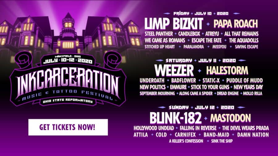 Inkcarceration Music Festival in Ohio