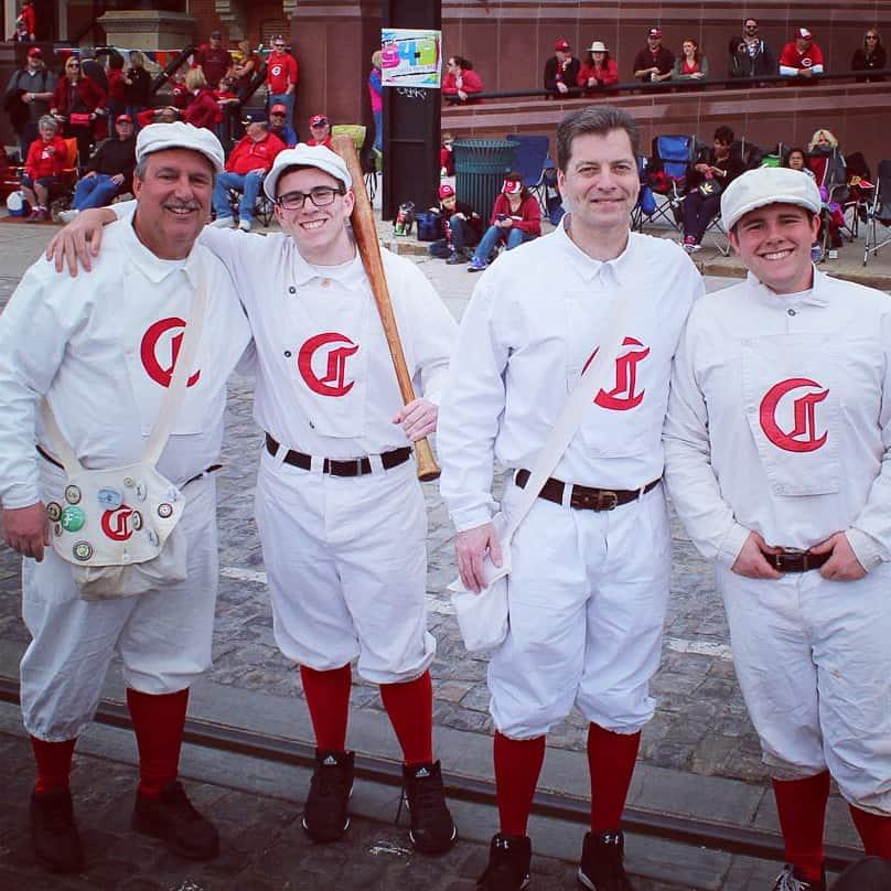 Cincinnati Reds Opening Day Parade