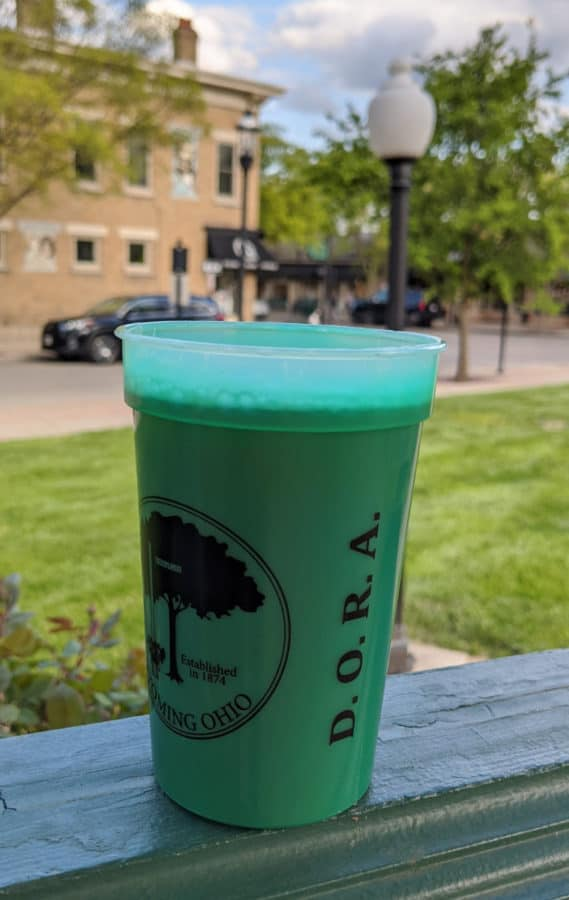 DORA cup in Wyoming, Ohio
