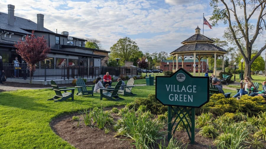 Station Family + BBQ and Village Green in Wyoming, Ohio