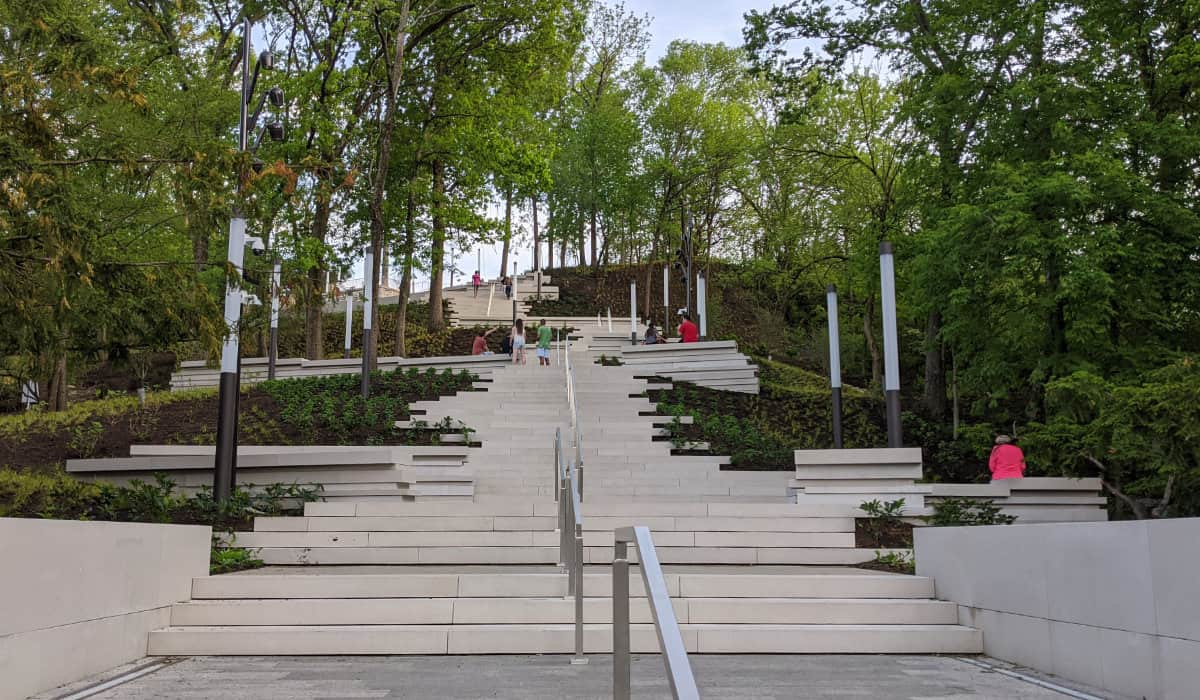 The Art Climb staircase