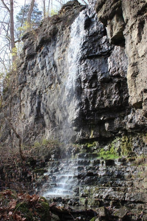 Waterfalls in Yellow Springs