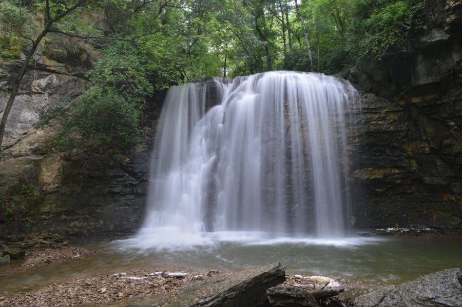 Hayden Falls in Dublin, Ohio