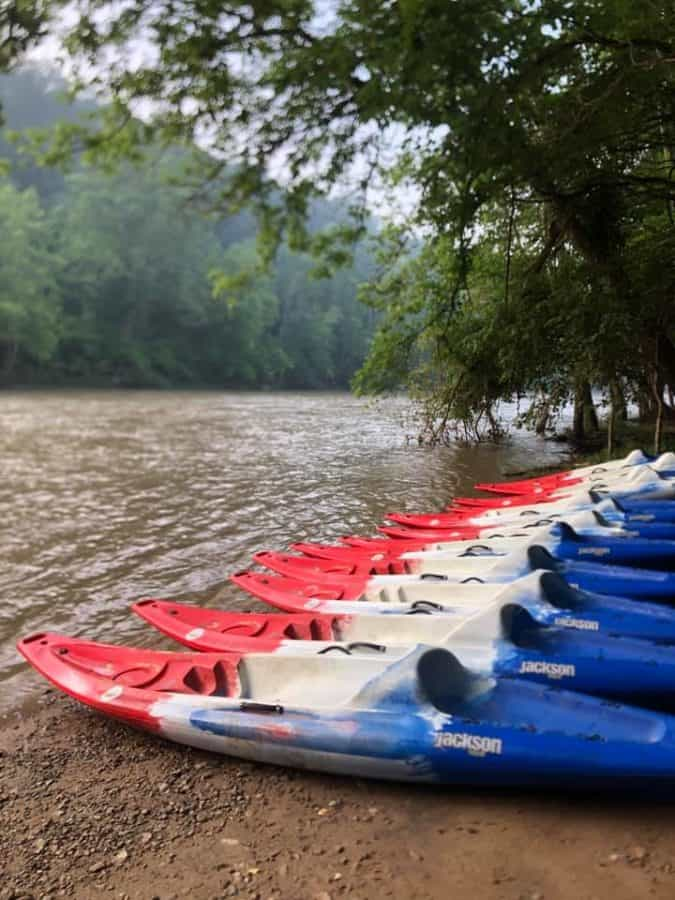 River Dog Paddle Sports kayaks
