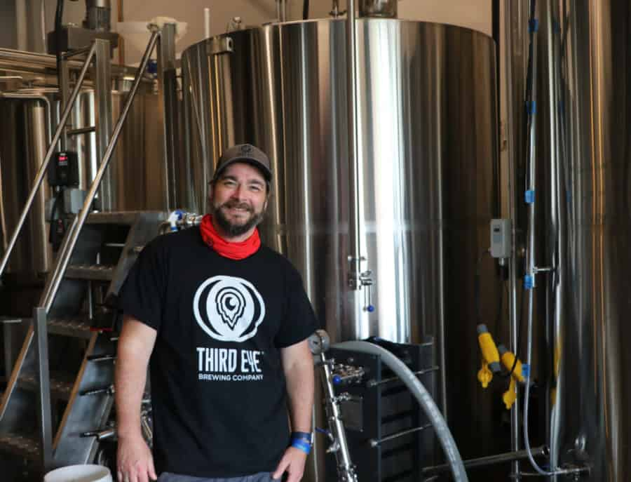 Third Eye Brewing Company's owner, Tom Collins