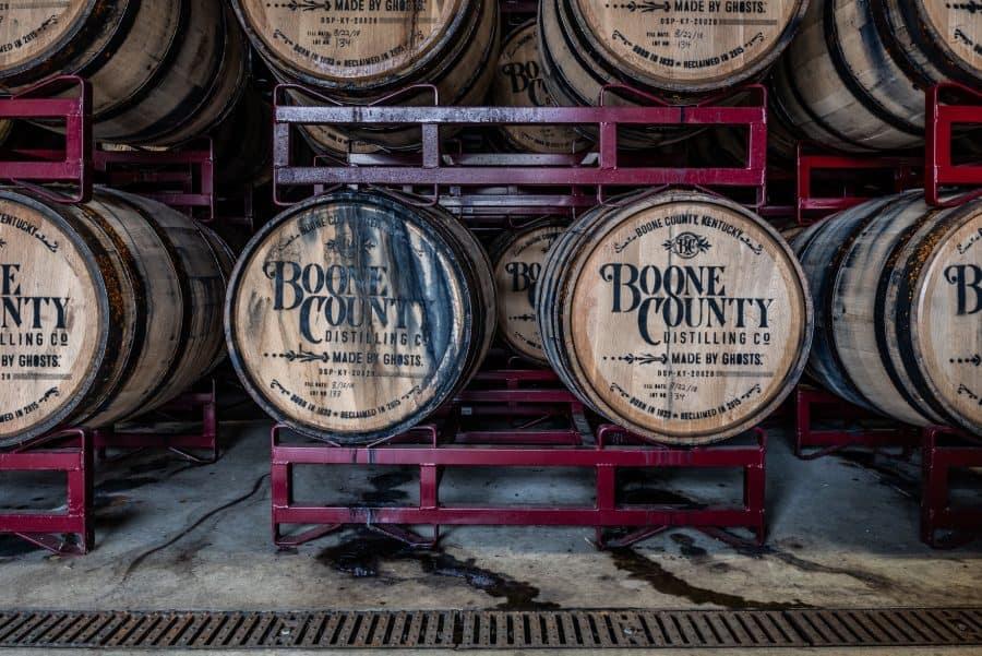 Boone County Distilling Co. barrels