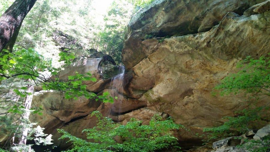 Hemlock Cliffs in Hoosier Forest
