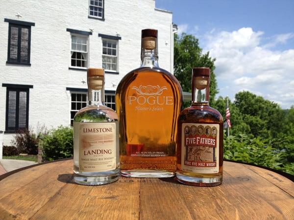 Old Pogue bottles
