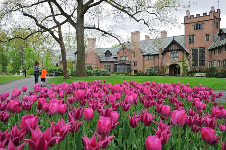 Stan Hywet Hall & Gardens in Ohio Castle