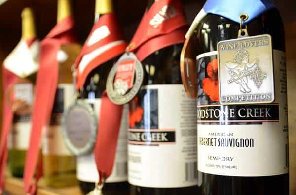 Woodstone Creek bottles