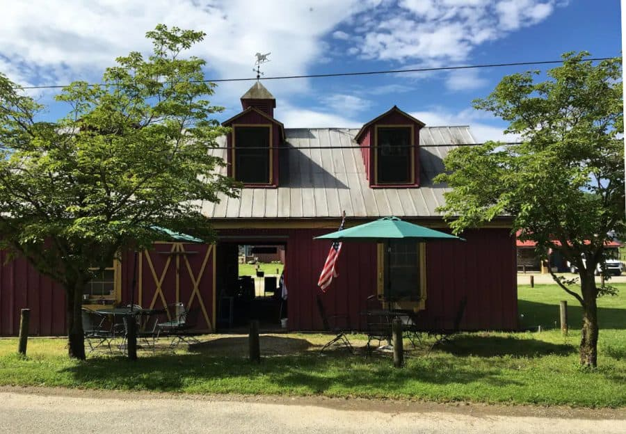Stay in a barn when you rent this Airbnb in Metamora, Indiana